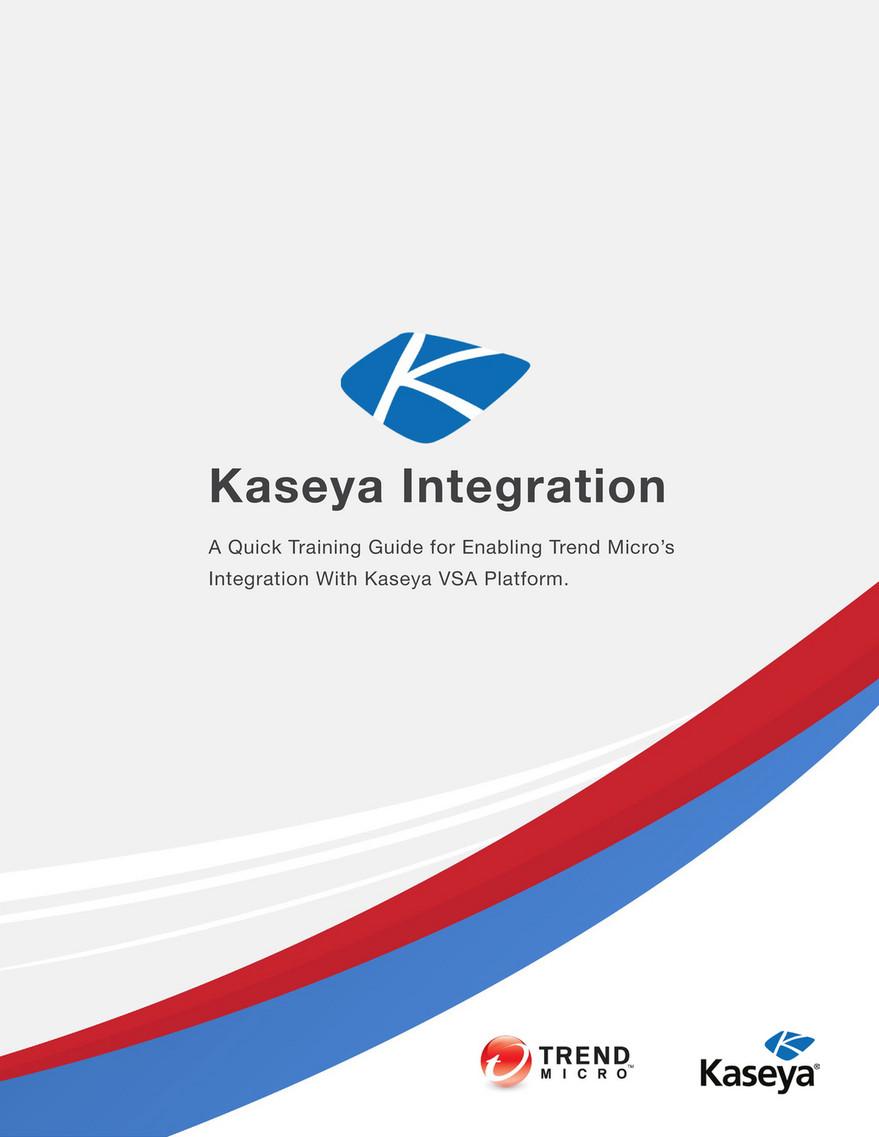 TM Kaseya Mini Playbook - Page 1